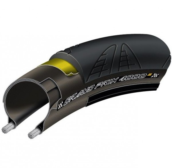 Continental Grand Prix 4000S II 28-622mm schwarz (0100947)