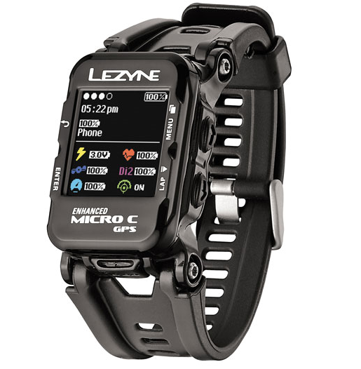 Lezyne Micro GPS Watch Color incl. HR black