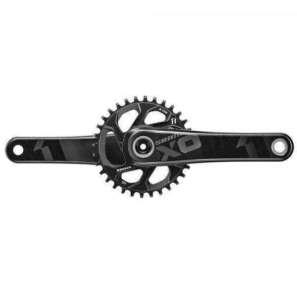 SRAM X01 Crank for BB30 with 32T directmount chainring - black