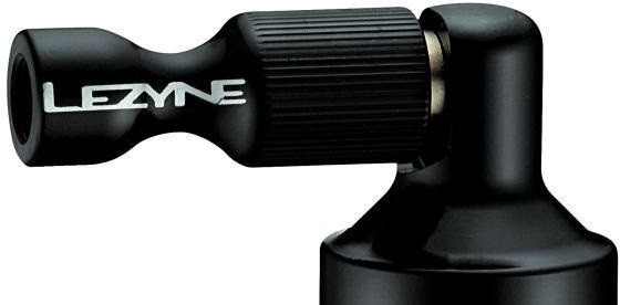 Lezyne CO2 Pumphead Alloy Drive CNC black-glossy