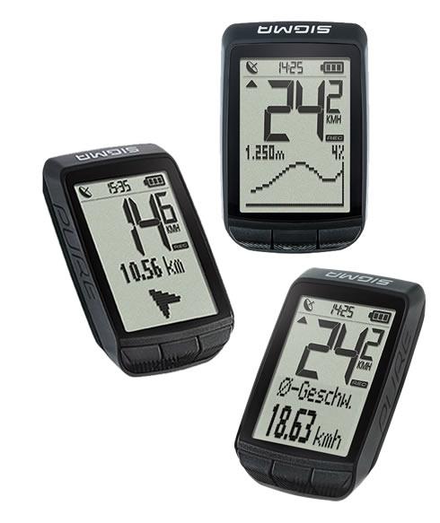 Sigma Bike Computer Pure GPS - black
