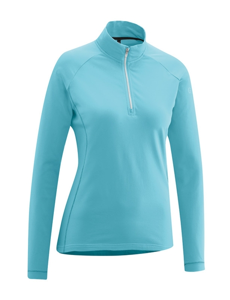 Gonso Antje ladies commuter top blue topaz
