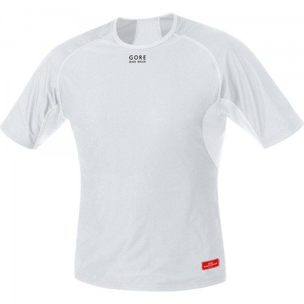Gore Bike Wear Baselayer WS Shirt light grey / white