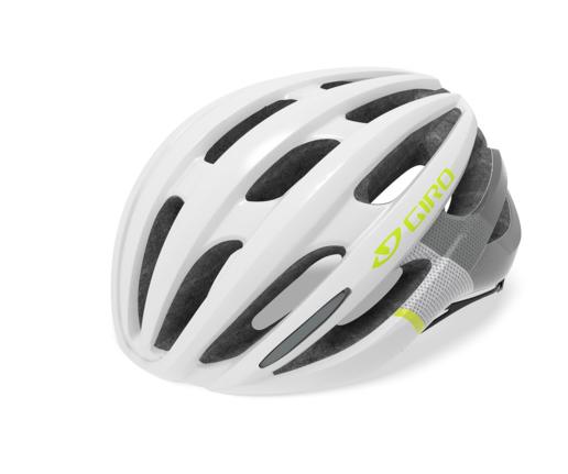 Giro Saga Mips Women Helmet mat white/citron