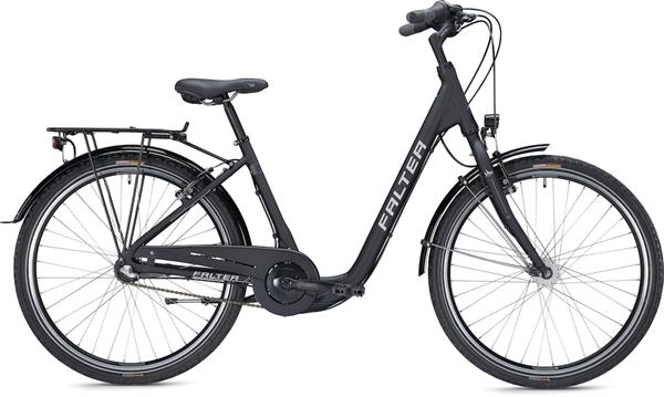 """Falter City/Urbanbike C 2.0 26"""" matt, schwarz"""