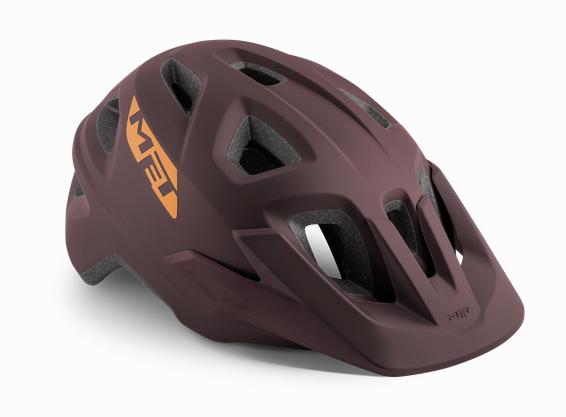 Met Echo Helmet burgundy matt