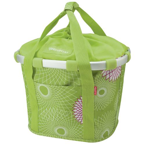 Reisenthel KLICKfix Bikebasket Bag crystals lime green