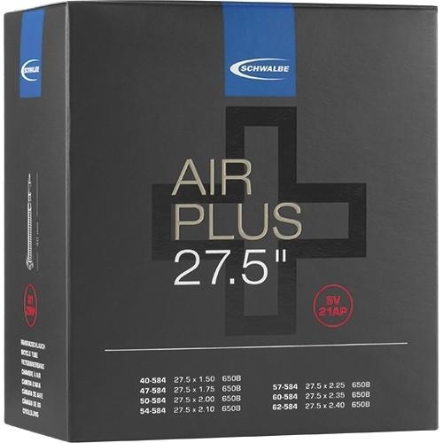 """Schwalbe Air Plus Schlauch 27,5"""" AV (10461580)"""
