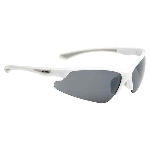 Alpina Levity glasses white - Ceramic mirror black