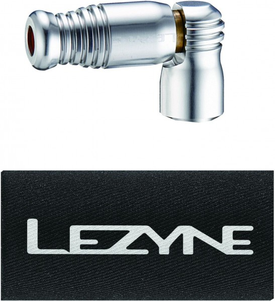 Lezyne CO2 Pumphead Trigger Speed Drive CNC silver shiny