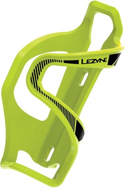 Lezyne water bottle holder Flow Cage E green-black / left
