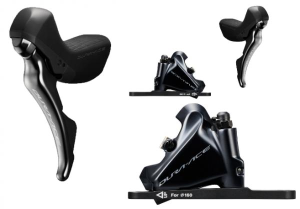Shimano Dura Ace Scheibenbremsenset VR + HR ST-R9120/BR-R9170