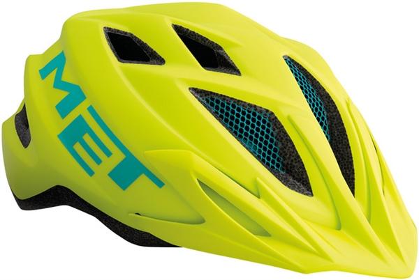 Met Crackerjack Helmet safety yellow - Unisize