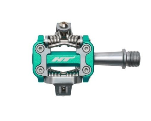HT Components M1 Pedale Green-Cyan