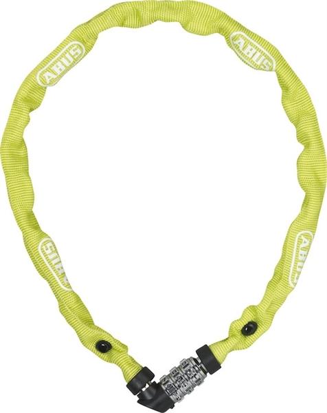 Abus chain lock 1200 Web Lime 4mm/60cm