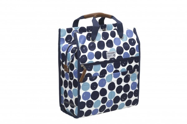 New Looxs Lilly Bicycle Bag Dots Blue