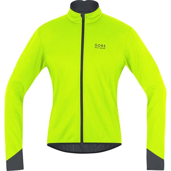 Gore Bike Wear Power 2.0 WS Jacke neon gelb/schwarz