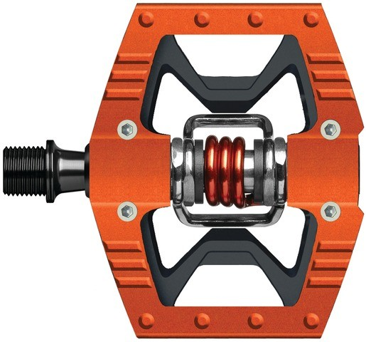Crank Brothers Doubleshot Pedal - orange/black