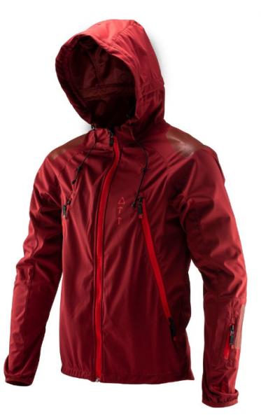 Leatt DBX 4.0 All Mountain Jacket ruby