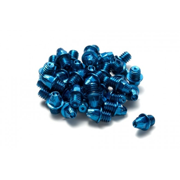 Reverse Pedal Pins for Flat pedals blue
