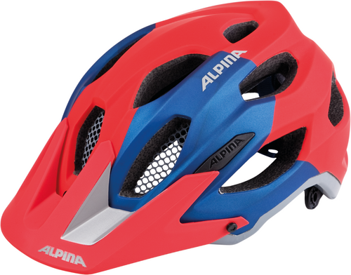 Alpina Carapax Helm red-blue