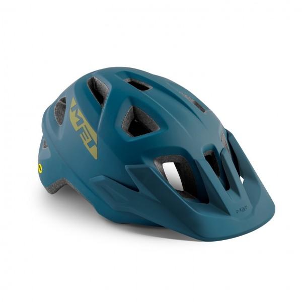 Met Echo MIPS Helmet Petrol Blue