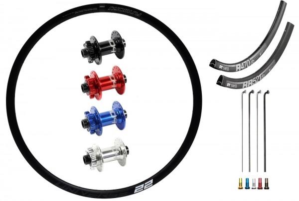 "SRAM Predictive Steering Disc IS Custom Front Wheel MTB 29"""