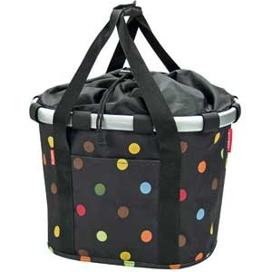 Reisenthel KLICKfix Bikebasket Bag bubbles dots