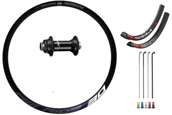 "Shimano XT Boost Disc CL Custom Front Wheel MTB 27,5"""
