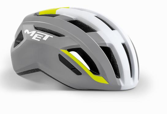 Met Vinci Mips Helm grey safety yellow/glossy