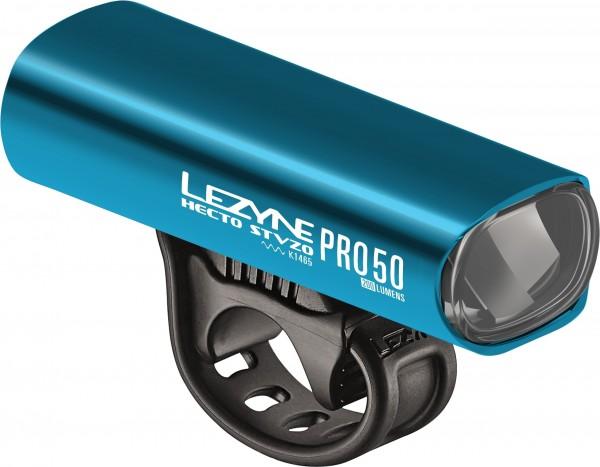 Lezyne Hecto StVZO Pro 50 blau-glänzend weißes Licht, Y11