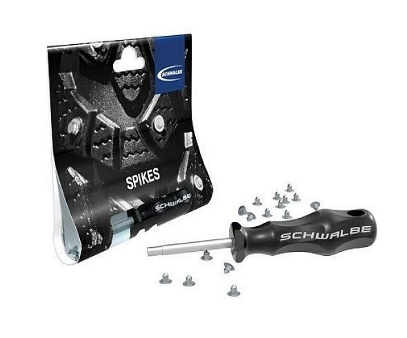 Schwalbe Replacement Spikes + Mounting Tool