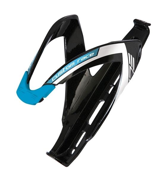 Elite Custom Race Flaschenhalter schwarz/blau glänzend