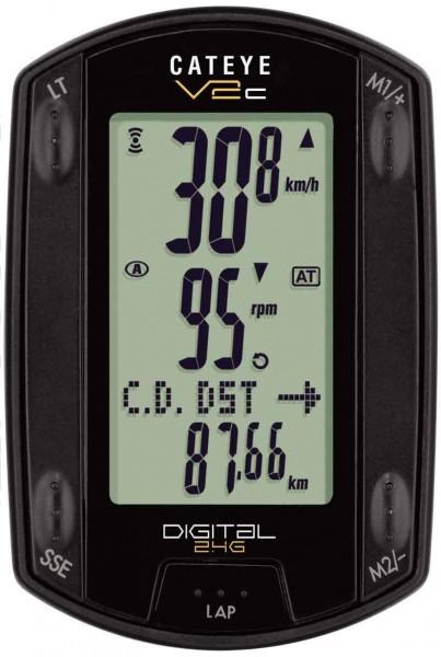 Cateye bike computer V2c Double Wireless CC-RD200DW