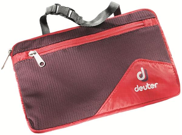 Deuter Wash Bag Tour Lite II fire aubergine