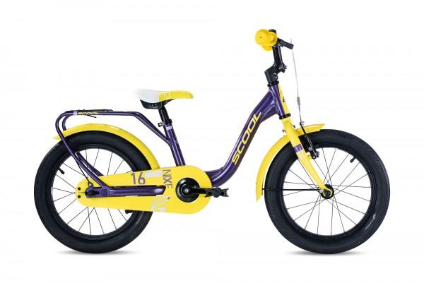 S´COOL niXe 16 Aluminium 1-Gang purple metallic/yellow