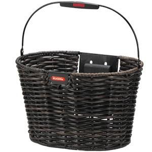 Rixen & Kaul KLICKfix Structura Oval Basket black-brown