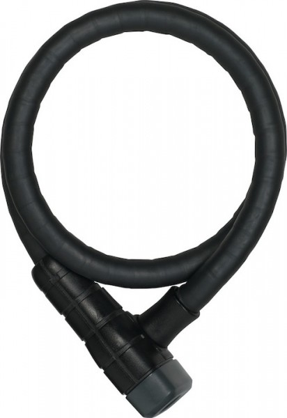 Abus armoured cable lock Microflex 6615K black 15mm/85cm