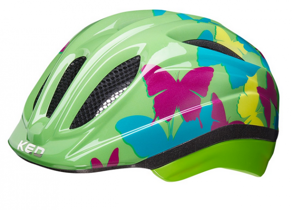 KED Meggy II Trend Kinder Helm butterfly green