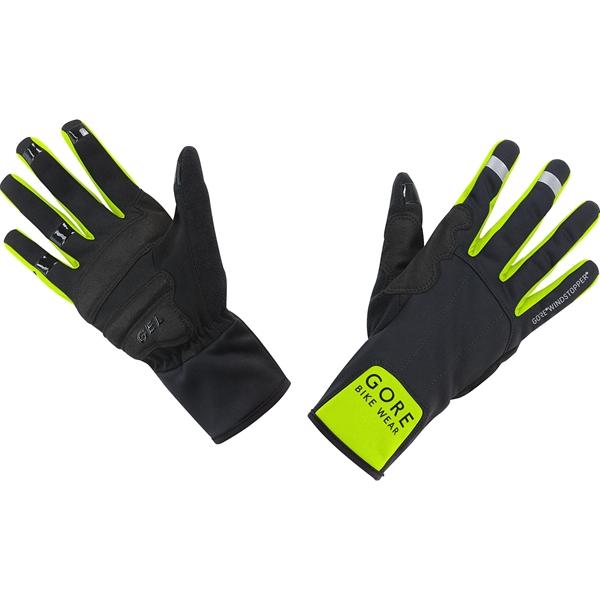 Gore Bike Wear Universal GWS Mid Gloves black/neon yellow