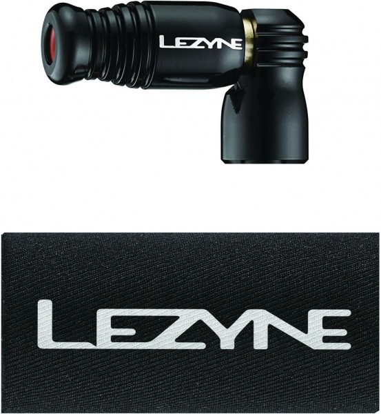 Lezyne CO2 Pumphead Trigger Speed Drive CNC black-glossy