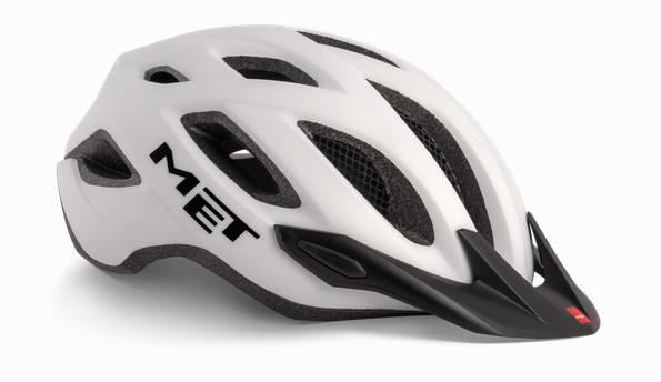 Met Crossover MTB Helmet White