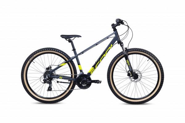 S´COOL troX 27,5 EVO Aluminium 21-Gang black yellow