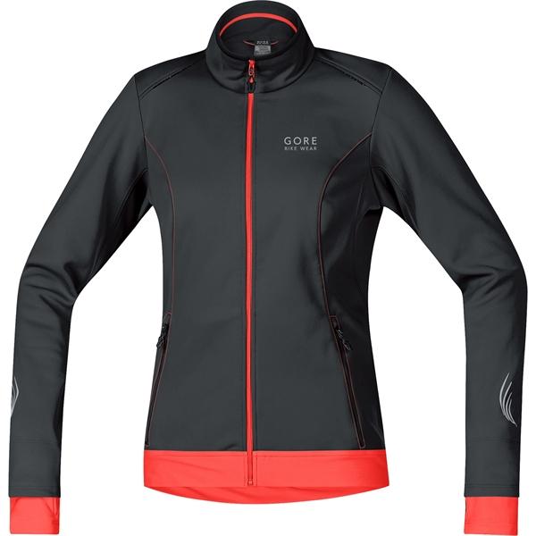 Gore Bike Wear E WS SO Lady Jacket black / luminous orange %