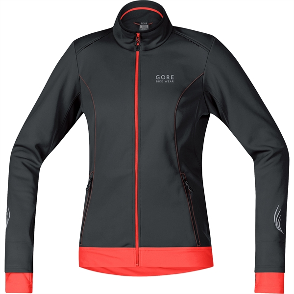 Gore Bike Wear E WS SO Lady Jacket black / luminous orange %