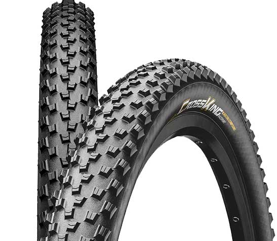 "Continental Cross King 27,5 x 2,6"" Black Chili Protection Apex Falt 2018"