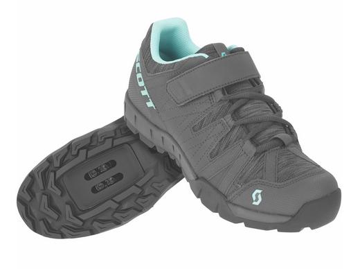 SCOTT Sport Trail Damen Schuh dark grey/turquoise blue
