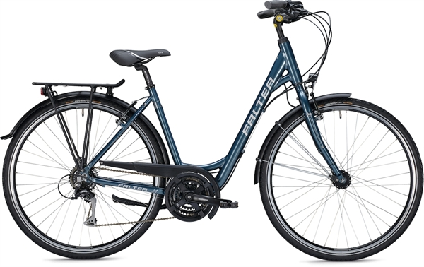 "Falter City / Urbanbike C 3.0 RD 28 ""glossy blue"