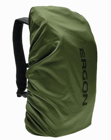 Ergon Rain Cover BC Urban and Ergon Backpacks green