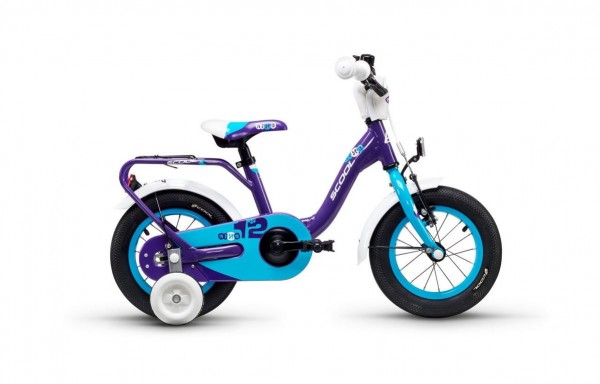 S´COOL niXe 12 Aluminium 1-speed violet/blue